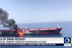 Hai tàu chở dầu 'gặp nạn' trên Vịnh Oman, giá dầu thế giới tăng vọt