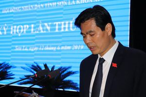 Chân dung tân Chủ tịch UBND tỉnh Sơn La Hoàng Quốc Khánh