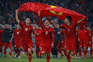 Đội tuyển Việt Nam xuất sắc tăng 2 bậc