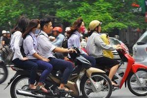 Trường hợp nào xe máy được chở 2 người?