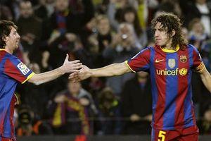 Messi từng 'hạ nhục' Carles Puyol trên sân tập