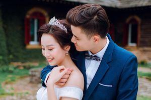 Ảnh cưới của 'vua kiếm chém' và người vợ xinh đẹp