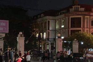 Điều tra nguyên nhân cán bộ phòng nội vụ tử vong trong phòng làm việc ở Thái Bình
