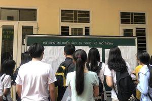 Điểm chuẩn vào lớp 10 trường công lập của Hà Nội