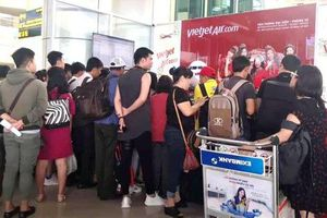 Cục Hàng không cử cán bộ vào TP HCM cùng Vietjet giải quyết tình trạng hoãn, hủy chuyến bay
