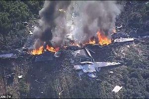 Máy bay quân sự Mỹ rơi, hàng chục người thiệt mạng