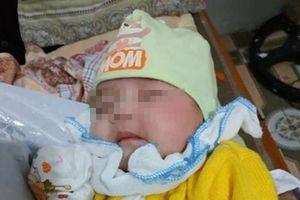 Bé gái 6 ngày tuổi xinh như thiên thần bị bỏ rơi cùng tâm thư