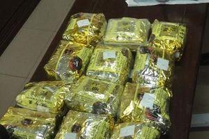 Nghệ An: Bắt thêm đối tượng mang hơn 12 kg ma túy đá từ Lào vào Việt Nam