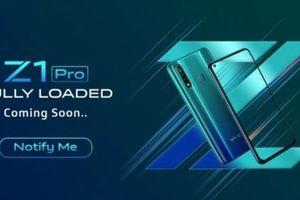 Hình ảnh teaser của Vivo Z1 Pro xuất hiện