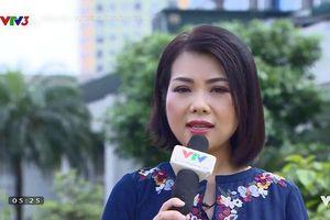 Nhan sắc trẻ trung bất ngờ của MC Bạch Dương khi trở lại VTV sau 2 năm rời xa
