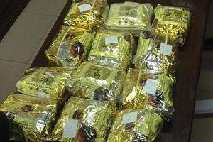 Nghệ An: Bắt 1 đối tượng vận chuyển 12 kg ma túy đá