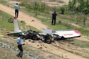 Đề nghị thăng quân hàm cho 2 phi công hy sinh trong vụ rơi máy bay ở Khánh Hòa