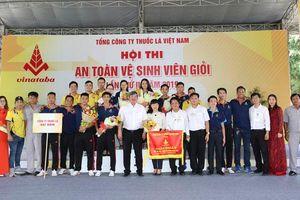 Vinataba tổ chức Hội thi An toàn vệ sinh viên giỏi lần 2