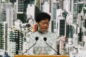 Trưởng đặc khu Hong Kong tuyên bố hoãn dự luật dẫn độ