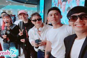 Tronie Ngô hội ngộ cùng hội bạn thân Khởi My, Kelvin Khánh, Đại Nhân và Thanh Duy sau thời gian bị đồn nghỉ chơi