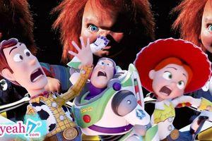 Liên tục tung poster 'đá xoáy' Toy Story, phải chăng 'búp bê ma' Chucky đang lên kế hoạch đè bẹp đối thủ trong ngày ra mắt?