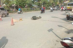 Hà Nội: Va chạm với xe buýt, người phụ nữ tử vong thương tâm
