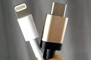 Apple bỏ rơi cổng lightning để đến với USB-C