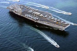 Âm thầm nhưng quyết liệt, siêu tàu sân bay Mỹ tuần tra liên tục tại biển Đông
