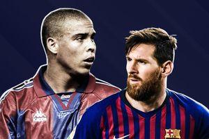 Messi, Ronaldo 'béo' vào đội hình sao Nam Mỹ hay nhất lịch sử Barca