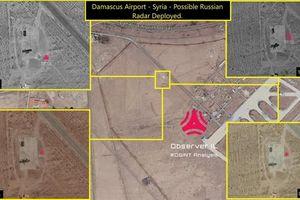 Radar cảnh báo sớm của S-300 xuất hiện ngay tại Damacus