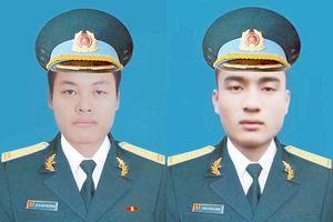 Truy phong, truy thăng quân hàm 2 phi công hy sinh