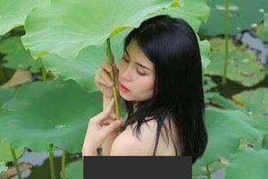 Diễn biến mới vụ nữ diễn viên khỏa thân dưới đầm sen ở phường Nhật Tân