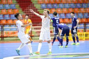 Thua ngược trước Nhật Bản, U20 futsal Việt Nam gặp Indonesia ở Tứ kết giải châu Á