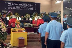 Xúc động tang lễ hai sĩ quan hy sinh khi máy bay quân sự rơi ở Khánh Hòa