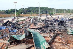 Khánh Hòa: Cháy nổ tại dự án sân golf, 2 người chết, 9 người bị thương