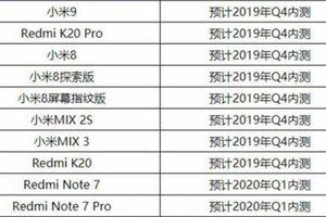 Danh sách điện thoại Xiaomi được thử nghiệm Android Q beta