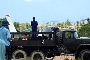 Thăng quân hàm 2 phi công hy sinh tại Khánh Hòa