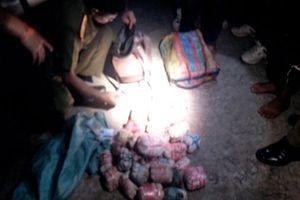 Bắt 3 đối tượng vận chuyển 20 kg thuốc phiện từ Tam giác vàng sang Việt Nam