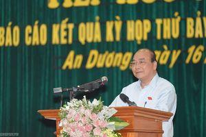 Thủ tướng: Muốn đổi mới điều hành phải sát dân, sát cơ sở, chống tiêu cực, tham nhũng