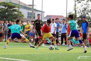 Lịch thi đấu Bán kết ngày 16/6 Giải bóng đá TN-NĐ Cúp Báo Nghệ An