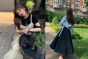 Học 'nữ thần' Suzy lên đồ vintage đẹp thần sầu cho chuyến du lịch hè