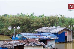 Chùm ảnh: Cuộc sống 28 hộ dân tại 'ốc đảo' giữa lòng Thủ đô