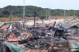 Nổ lớn trong đêm ở Cam Ranh, 2 người chết, 8 người bị thương