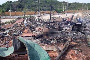 Cháy nổ trong sân golf ở Khánh Hòa, 2 người tử vong