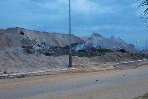 Cháy nổ lớn tại dự án sân golf Cam Ranh, nhiều người thương vong