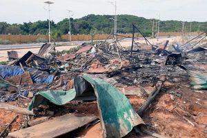 Nạn nhân vụ nổ dự án sân golf Cam Ranh lúc nửa đêm: 'Mọi người vùng chạy nhưng đám cháy lan nhanh quá, 2 người không thoát kịp'