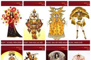 Top trang phục dân tộc giúp Hoàng Thùy 'nuốt chửng' sân khấu Miss Universe 2019