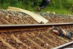 Băng qua đường ray lúc tàu đang đến, người đàn ông tử vong thương tâm