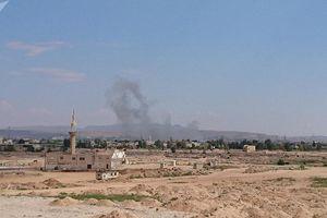 Nổ lớn tại khu quân sự ở thủ đô Damascus, Syria