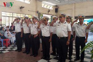 Nghẹn ngào tiễn biệt hai phi công quân sự hy sinh tại Khánh Hòa
