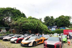 Cận cảnh đoàn siêu xe Car Passion đến Hạ Long