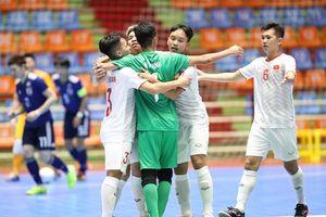 VCK U20 futsal châu Á 2019: U20 Việt Nam gặp U20 Indonesia ở tứ kết