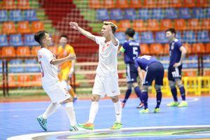 Thua Nhật Bản, U20 Việt Nam gặp Indonesia ở tứ kết Futsal U20 châu Á