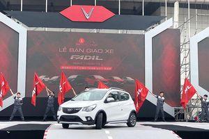 650 xe VinFast Fadil đầu tiên chính thức đến tay khách hàng Việt Nam