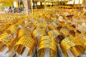 Giá vàng thế giới lập đỉnh trong vòng một năm qua